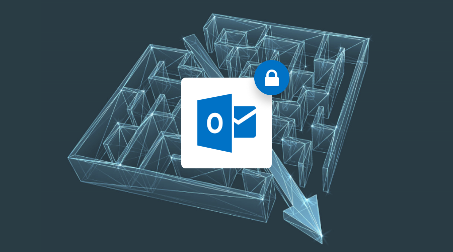 Outlook secure email